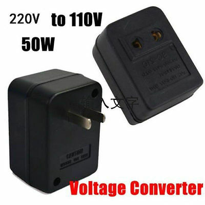 220V To 110V 50W AC Power Voltage Converter Adapter Transformer For US/USA C1