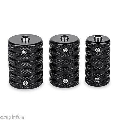 3pcs / Set 25mm 30mm 35mm Aluminum Alloy Tattoo Grips Supply with Wrench