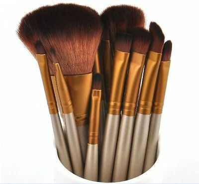 20pcs Professional Soft Cosmetic Eyebrow Shadow Makeup Brush Set Kit for lady