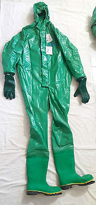 Drager work master chemical hazmat rubber work protective suit size – xl (2)