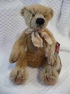 BENTLEY Mohair RUSS Collectable Retired Bears From The Past 28cm Certificate