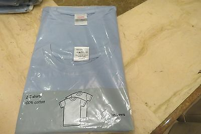 17 x JOHN LEWIS BRAND NEW 2PACK 100% COTTON T-SHIRTS - RRP £11 EACH