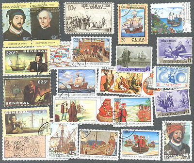 Christopher Columbus-50 all different collection