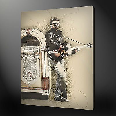 George Michael Canvas Print Picture Wall Art Free Fast Delivery
