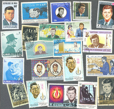 President Kennedy 50 all different collection
