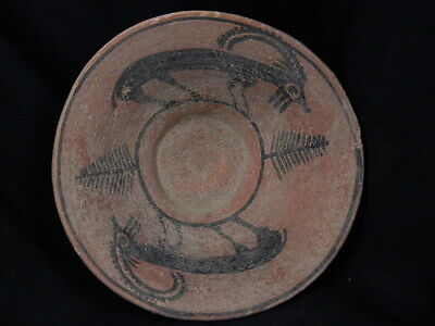 Ancient Large Size Teracotta Painted Pot With Ibex Indus Valley 2500 BC #PT15516