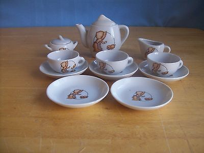 Vintage Holly Hobbie? And Puppy Child's China Tea Set