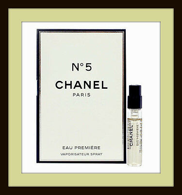 Chanel No 5 Eau Premiere 2ml EDP Mini Sample