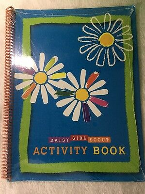 New Sealed Daisy Girl Scouts Activity Book. Spiral Softcover.