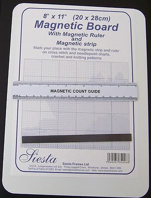 "Magnetic Board 11 x 8"" ( 28 x 20 cms) from Siesta"