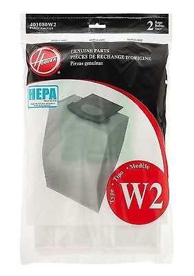 Hoover W2 Genuine Hepa Bags 401080W2 Windtunnel 2