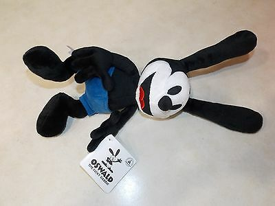 """Disney Parks 9"""" Oswald the Lucky Rabbit Plush Doll NEW with Tags Free Shipping"""