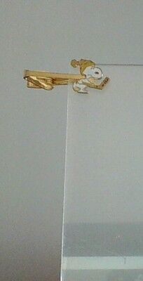 Vintage Peanuts Snoopy Ice Hockey Tie Bar by Aviva