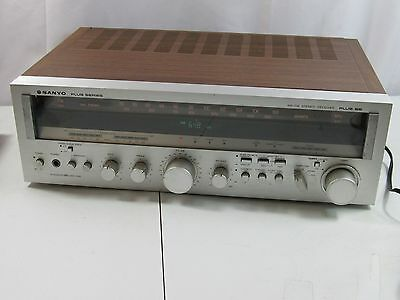 Vintage Sanyo Plus 55 Stereo Receiver Amplifier 55 Watts Per Channel  CLEAN