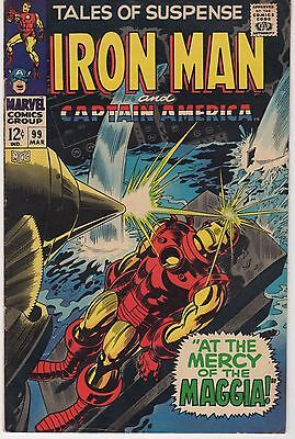 Tales Of Suspense #99 Vg/fn! At The Mercy Of Maggia