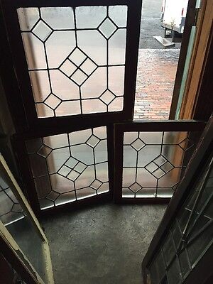 Sg 1023  3 Available Priced Separately Antique Beveled Center Window