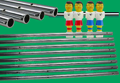 Set of 8 Hollow Foosball Rods for Table Soccer-Foosball Table Rod Diameter 5/8""