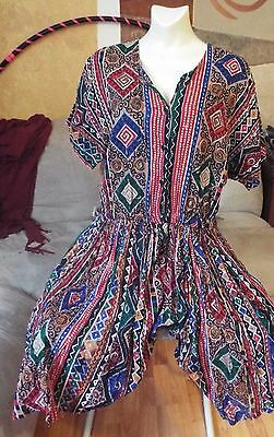Women's Vintage Adrian Jordan Plus Size Romper Size 14/16 BEAUTIFUL