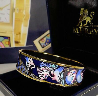 MICHAELA FREY WILLE Armreif TROPISCH FLAMINGO Armband bangle bracelet +BOX MF501