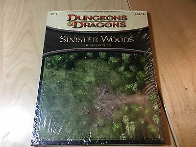 D&D Dungeon Tiles Sinister Woods - New - Still sealed