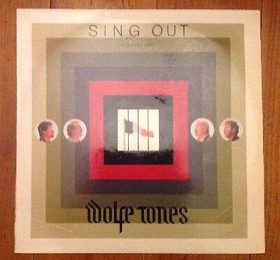 Wolfe Tones SING OUT For Ireland LP - RARE