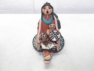 Jemez Pottery Native American Indian Pueblo Storyteller by Carol Lucero Gachupin