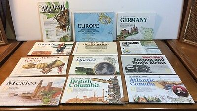 Huge Lot 39 National Geographic Maps From All Over The World