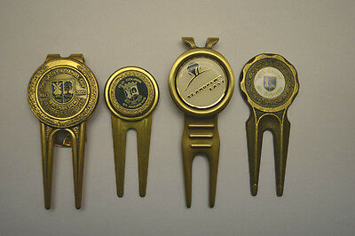 Golf Divot Tool w/ Marker St. Andrews Old Course 26th Open Scotland + More (4)