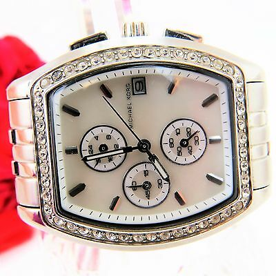 Authentic Michael Kors MK5053 Stainless Steel Quartz Ladies Watch Small Wrist