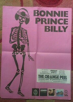Bonnie Prince Billy Will Oldham promo poster RARE!