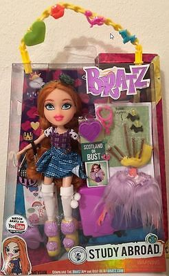 Bratz Study Abroad Meygan Scotland or Bust Doll Rare Collector New NIB