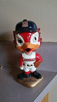 1960's St. Louis Cardinals Gold Base Bobblehead