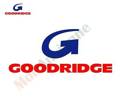 Kit 4 Flexibles de frein aviation GOODRIDGE pour Volkswagen Polo 1, 2, 3 et G40