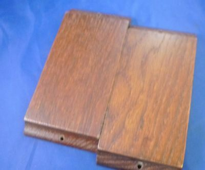 """~Dollhouse Miniature Two 6"""" by 3"""" Wood Blocks Used for Elevating Floor?"""