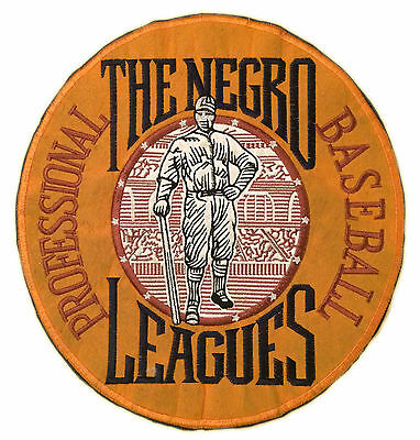 """The Negro Leagues Professional Baseball Large 10.5"""" Logo Patch"""