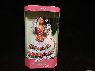 Spanish Andaluia Barbie Doll Limited  Ed.