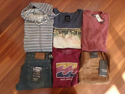 """Free Post Mens NWT  Surf Brand Clothes, Size M & 32"""""""",Country Road,Quicksilver"""