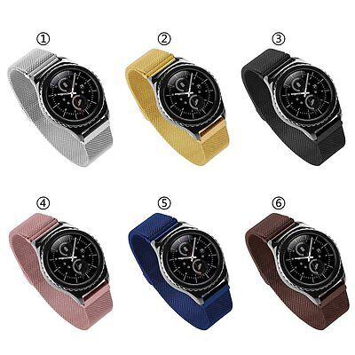 New Milanese Magnetic Stainless Steel Band For Samsung Gear S2 Classic SM-R732