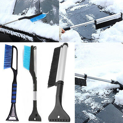 Outdoor Vehicle Snow Shovel Scraper Snowbrush Shovel Removal Brushes Tool Newest