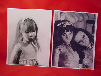 2 Sasha Morgenthaler Dolls Photos 8In X 10In Reprints, New
