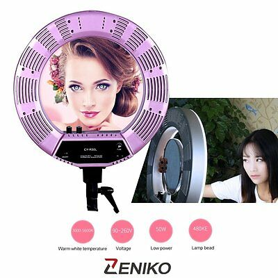 40W New Camera Photography Phone Video Photo Ring Continuous Light Kit 5500K
