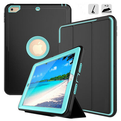 CHILDRENS SHOCKPROOF SMART TOUGH HARD CASE COVER FOR iPad 2/3/4&AIR&MINI 123 LOT