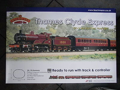 BRANCHLINE 30-170 THAMES CLYDE EXPRESS TRAIN SET (Power Grunt Hobbies)