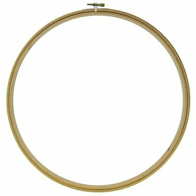 Siesta Wooden 12 Inch Embroidery Hoop Ring Round Cross Stitch Sewing Tools