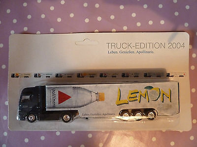 Werbetruck MAN Apollinaris Lemon Truck Edition 2004 in OVP