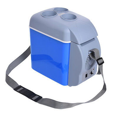 12V 7.5L Portable Mini Warming and Cooling Car Vehicle Refrigerators Car Freezer