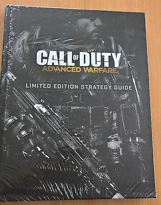 Call of Duty: Advanced Warfare Limited Edition Strategy Guide Book Sealed