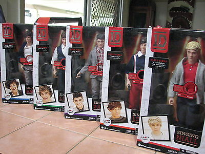 retired one direction collectiable dolls