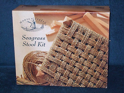 Seagrass Stool Making Kit - Mint/boxed Craft Kit 2008 - The House Of Crafts Ltd