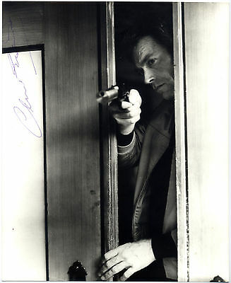 GENUINE & COLLECTABLE - A Signed Photo of CLINT EASTWOOD - DIRTY HARRY 1971.